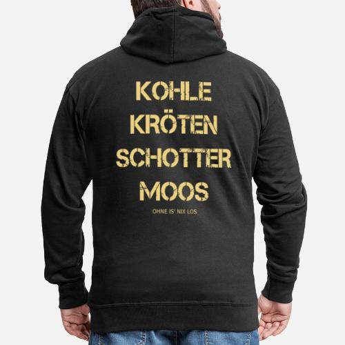 Kohle Kroten Schotter Moos Geld Manner Premium Kapuzenjacke