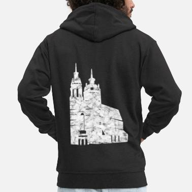 Church church - Men's Premium Zip Hoodie