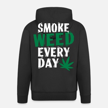 Smoke Smoke Weed Everyday Linovert - Veste à capuche Premium Homme