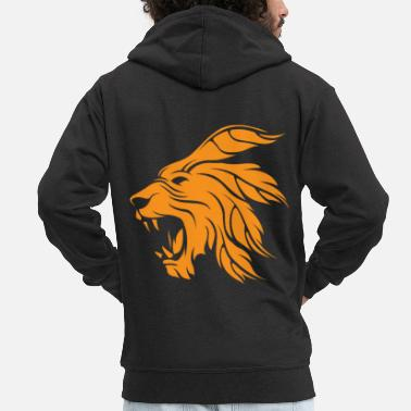 Creature Chimera, gift chimera lion mythical creature monster - Men's Premium Zip Hoodie