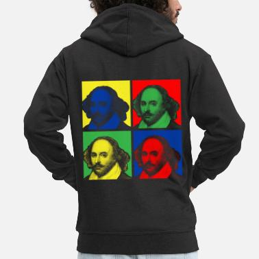 Shakespeare SHAKESPEARE - Men's Premium Zip Hoodie