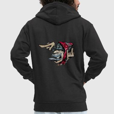 Graffiti graffiti - Men's Premium Hooded Jacket