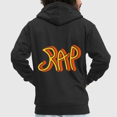 Rap Rap - Men's Premium Hooded Jacket