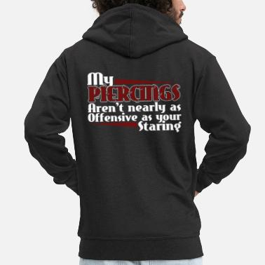 Offensive offensive - Men's Premium Hooded Jacket