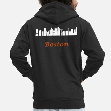New England boston new england - Men's Premium Zip Hoodie