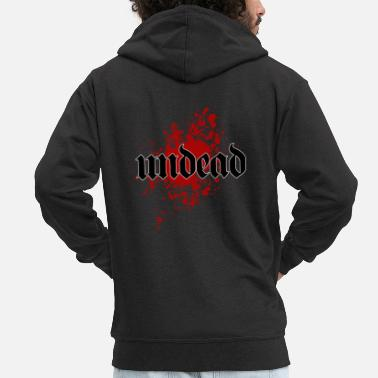 Undead Undead Undead - Men's Premium Hooded Jacket