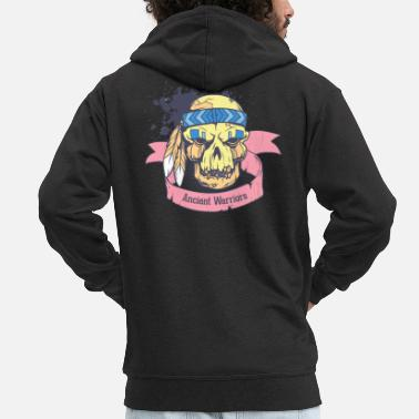 Ancient Ancient Warriors - Ancient Warriors - Men's Premium Zip Hoodie