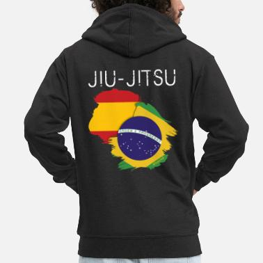 e6897d787f Jiu Jitsu Jiu-jitsu  España-Brasil - Chaqueta con capucha premium hombre