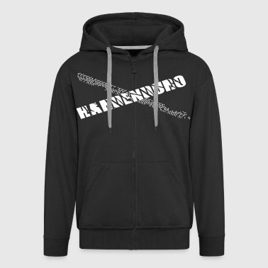 Hardenduro Monsters of Motocross - Männer Premium Kapuzenjacke