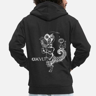 Occult Occult Gothic Gift - Men's Premium Hooded Jacket