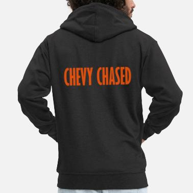 Chevy chevy chased - Men's Premium Hooded Jacket