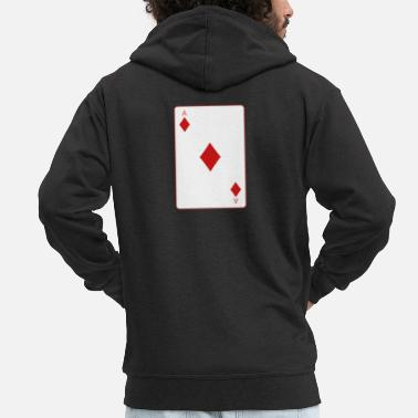 Cards poker card - Premium-Luvjacka herr