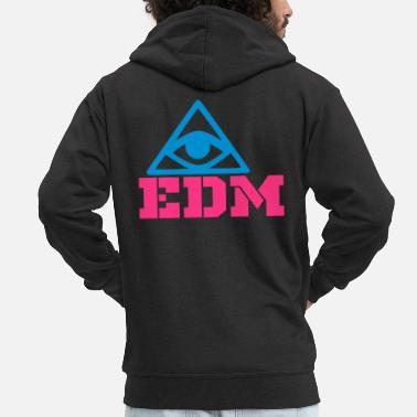 Edm edm - Men's Premium Hooded Jacket