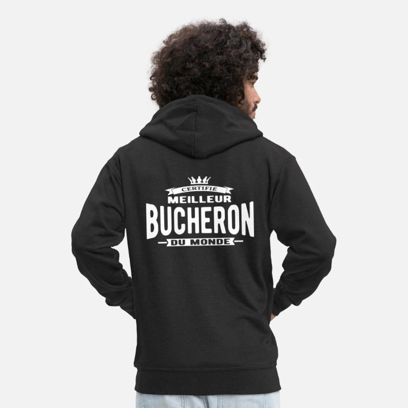 Bûcheron Bûcheron Fr Monde Nedershirt Du De Spreadshirt Meilleur 1daBwqc1