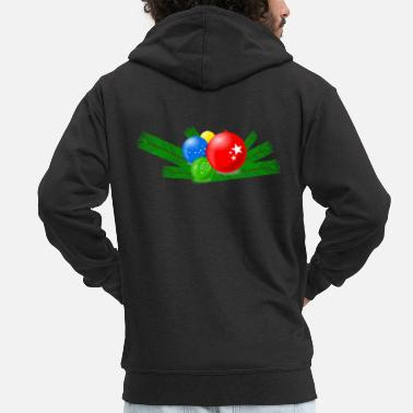 Decorated decoration - Men's Premium Zip Hoodie