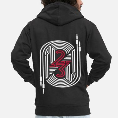 Connector 23 connector - Men's Premium Zip Hoodie