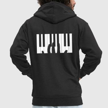 Pianist - Men's Premium Hooded Jacket
