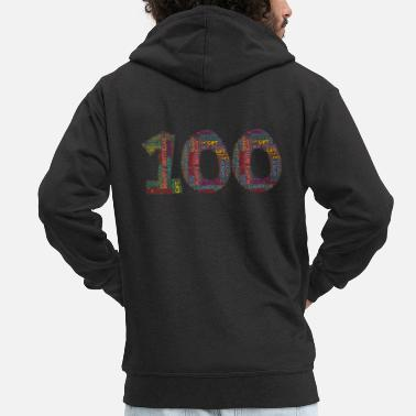 Legal Age Happy Birthday - 100 years - Men's Premium Zip Hoodie