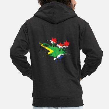 South South Africa Cape Town - Men's Premium Zip Hoodie
