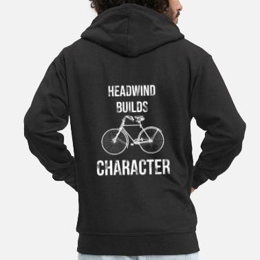 Headwind Headwind forms the character - Men's Premium Zip Hoodie