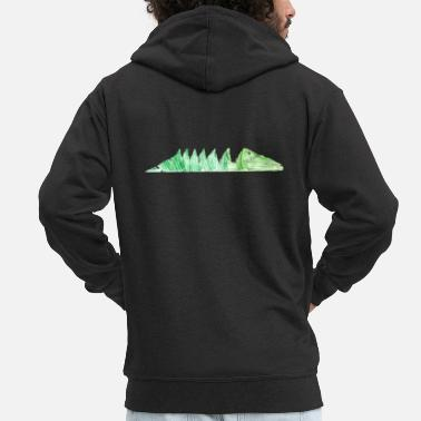 Crocodiles Crocodile crocodile - Men's Premium Zip Hoodie