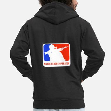 Major League Major League Operator - Men's Premium Zip Hoodie