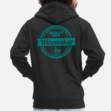 Winemaker Winemaker - Men's Premium Zip Hoodie