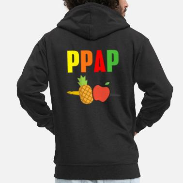 Pen Apple Pineapple pen pen PinePineapple apple pen - Mannen premium zip hoodie