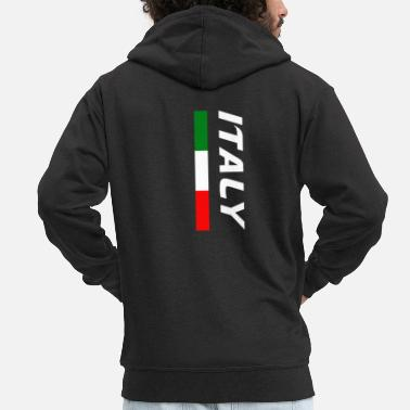 Italia Italy / Italy - Men's Premium Hooded Jacket
