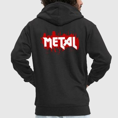 Heavy Metal - Men's Premium Hooded Jacket
