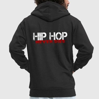 Rap Hip Hop rap rappers - Men's Premium Hooded Jacket