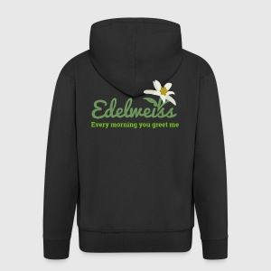 Edelweiss edelweiss every morning you greet me by vicoli shirts mens premium hooded jacket m4hsunfo
