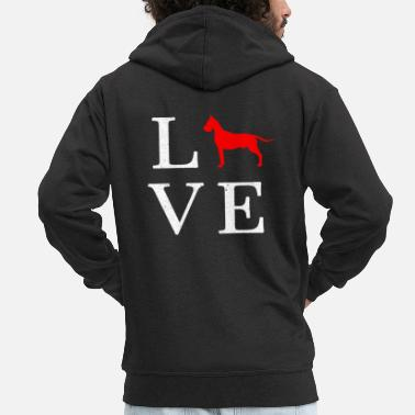 Great Dane Great Dane Great Dane Gift - Men's Premium Zip Hoodie