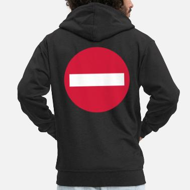 Traffic traffic - Men's Premium Zip Hoodie