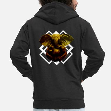 Ganesha Ganesha - Men's Premium Hooded Jacket