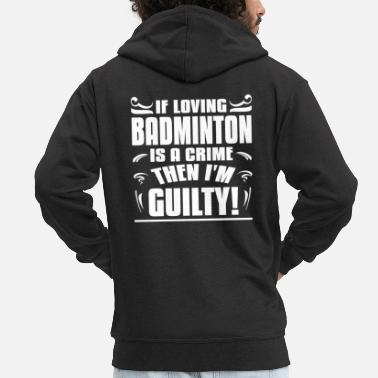 Badminton Rackets badminton - Men's Premium Zip Hoodie