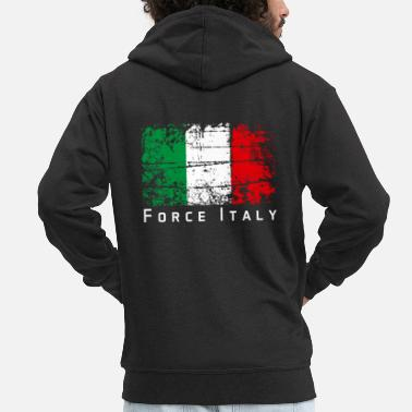 force italy - Men's Premium Zip Hoodie