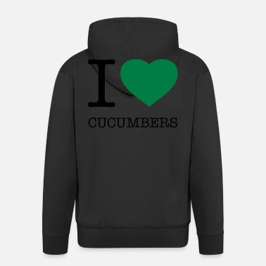 I Love Heart Cucumbers Sweatshirt