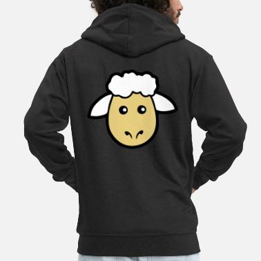 Sheep Sheep Sheep - Men's Premium Hooded Jacket