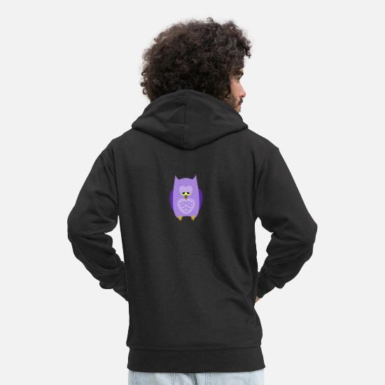 Gift Idea Hoodies & Sweatshirts - Tired - Men's Premium Zip Hoodie black
