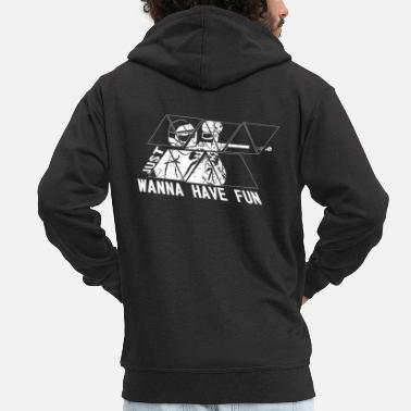 Paintball Paintball - Mannen premium zip hoodie