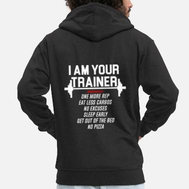 Personal Trainer Personal trainer - Men's Premium Hooded Jacket