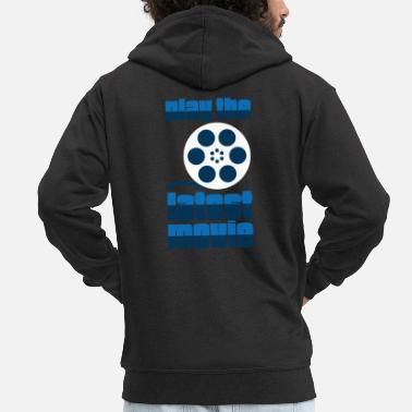 Movie Movie Chill Movie - Mannen premium zip hoodie