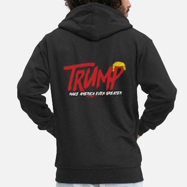 Satire Trump Satires - Veste à capuche Premium Homme