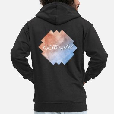 Norway Norway - Norway - Men's Premium Zip Hoodie
