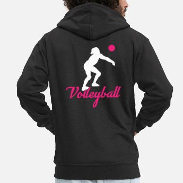 Volley Sports - Men's Premium Zip Hoodie