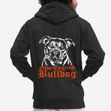 Bulldog Olde English Bulldog - Premium-Luvjacka herr