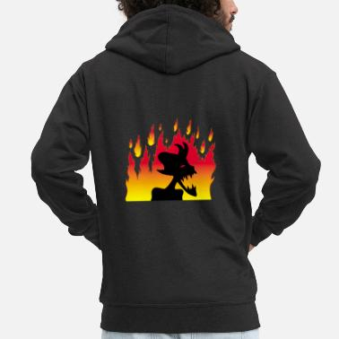 Demonic Demonic demon! - Men's Premium Hooded Jacket