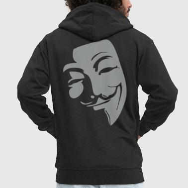 Anonymous Anonymous - Men's Premium Hooded Jacket