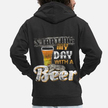 Tent Beer gift idea - Men's Premium Zip Hoodie